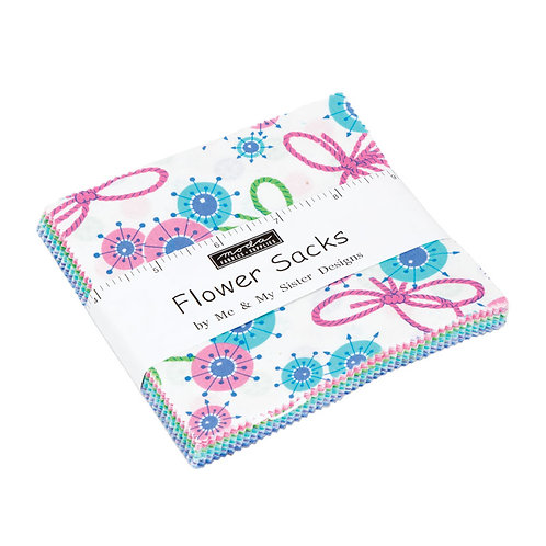 Flower Sacks Moda Me & My Sister Charm Pack