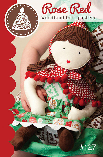 Lella Boutique ROSE RED Doll Pattern