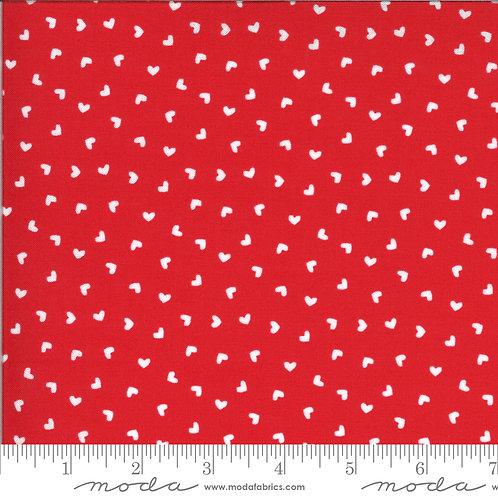 Be Mine 20717 14 Red Hearts Moda Stacy Iest Hsu