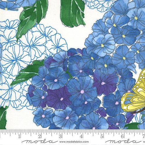 Cottage Bleu 48690 11 Cream Moda Robin Pickens