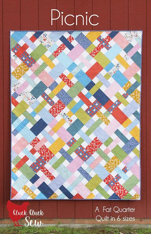 Cluck Cluck Sew PICNIC Fat Quarter Pattern