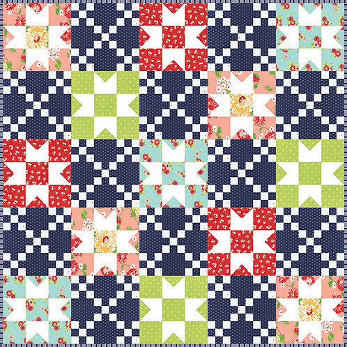 It's Sew Emma FAMILY REUNION Fat Quarter Pattern