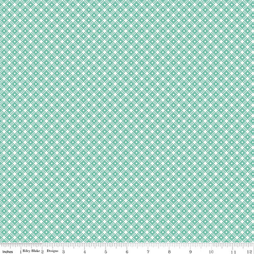 Flea Market C10221S Seaglass Weave Lori Holt  Riley Blake