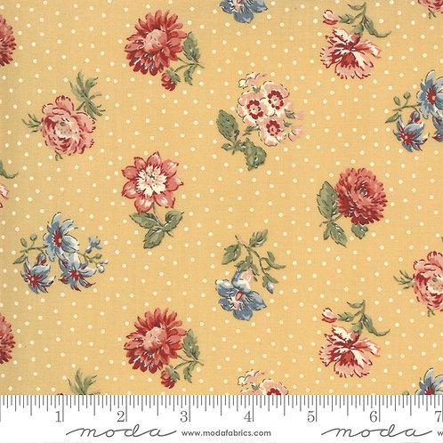 Jardin de Fleurs 13893 15 Saffron Floral Moda French General