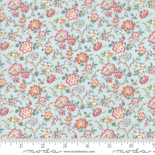 Tres Jolie LAWNS 13874 16LW Sea Mist Multi Floral FRENCH GENERAL Moda