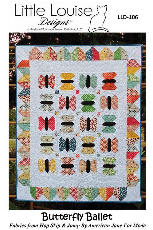 Little Louise Designs BUTTERFLY BALLET Jelly Roll Pattern