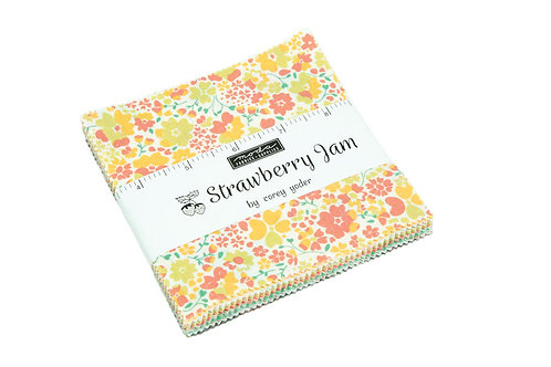STRAWBERRY JAM Moda Charm Pack Corey Yoder