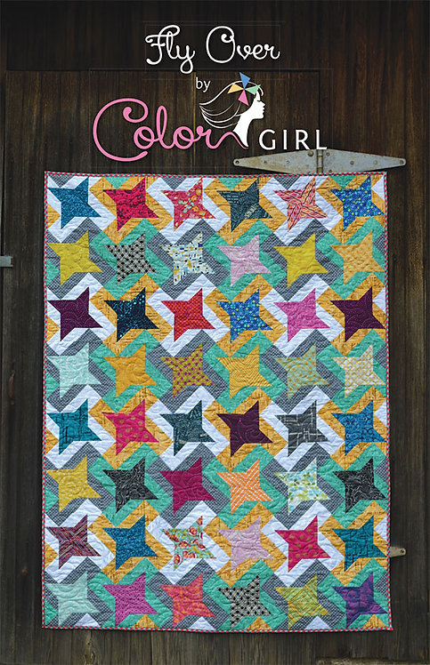 Color Girl FLY OVER Pattern