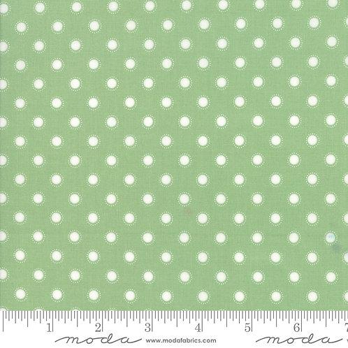 Bloomington 5114 17 Green Polka Dot Moda Lella Boutique