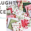 Thumbnail: Naughty or Nice 30630 12 Red Floral Moda Basic Grey