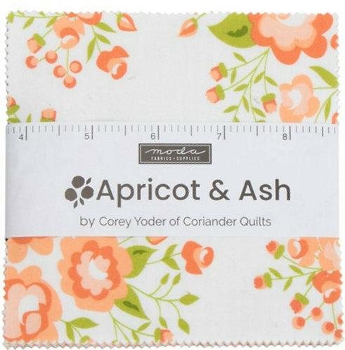 Apricot & Ash Moda Charm Pack Corey Yoder