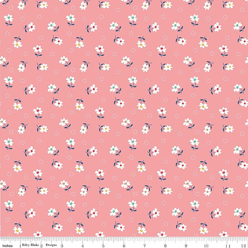 Farm Girl Vintage C7877C Pink Lori Holt  Riley Blake