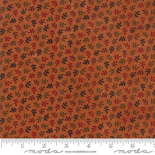 Nature's Glory 9586 17 Orange Leaves Moda Kansas Trouble