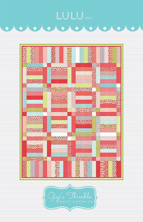 Gigi's Thimble LULU Jelly Roll Pattern