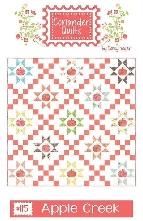 Coriander APPLE CREEK Fat Eighths Pattern