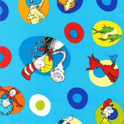 Celebrate Seuss! 10787 203 Blue Cat In The Hat Kaufman