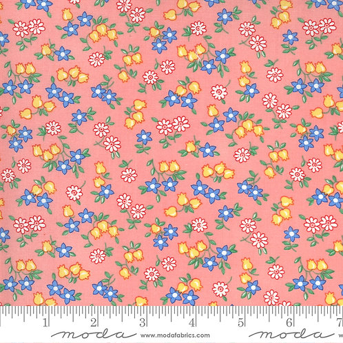 30's Playtime 33594  13 Pink Floral Moda Chloe's Closet