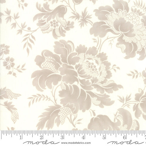 Rue 1800 44221 11 Ivory Brown Floral Moda 3 Sisters