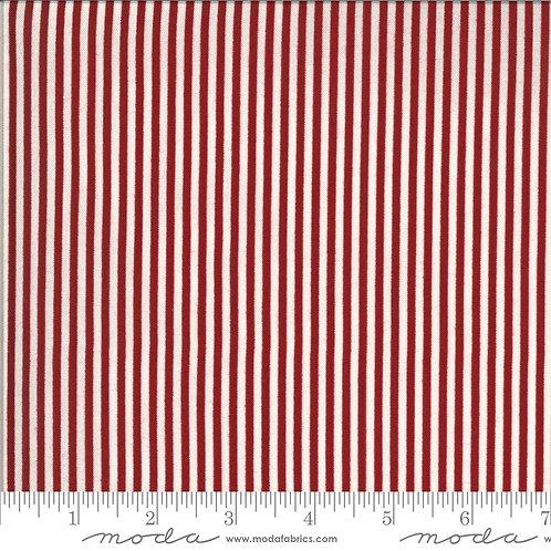 American Gathering 49121 12 Red Striped Moda Primitive Gath