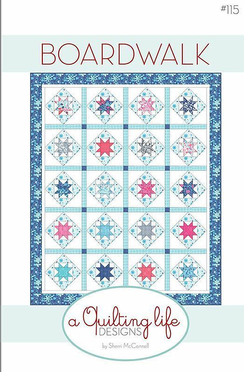 A Quilting Life BOARDWALK Layer Cake Pattern