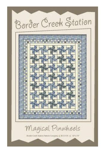 Border Creek Station MAGICAL PINWHEELS Pattern