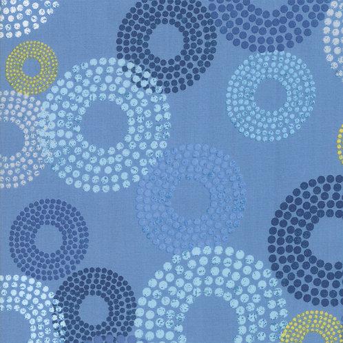 Breeze 1690 14 French Blue Circles Moda Zen Chic