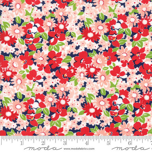 The Good Life 55155 16 Red Floral Moda Bonnie & Camille