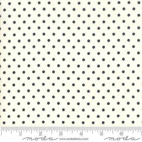 Bubble Pop 21766 18 White Black Polka Dots Moda AMERICAN JANE