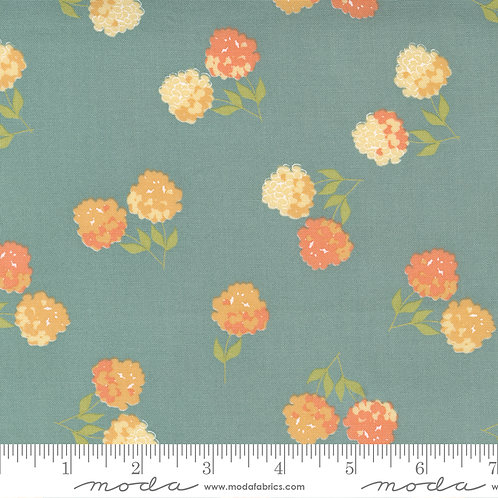 Cozy Up 29121 17 Blue Floral Moda Corey Yoder
