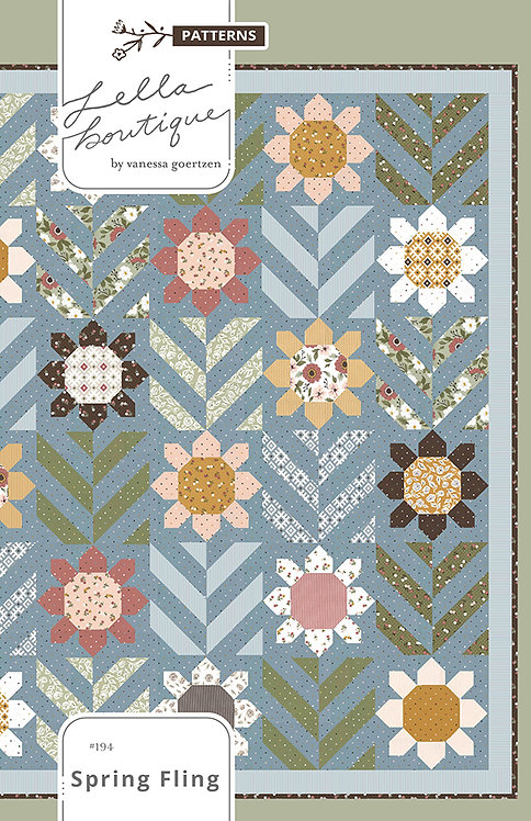 Lella Boutique SPRING FLING Fat Quarter Pattern