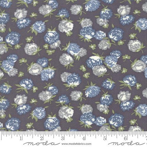 At Home 55203 23 Gray Blue Floral Moda Bonnie & Camille