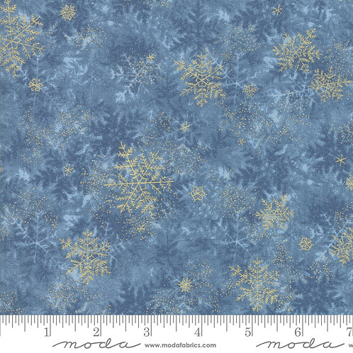 Forest Frost Glitter 33523 14MG  Blue Gold Snowflakes