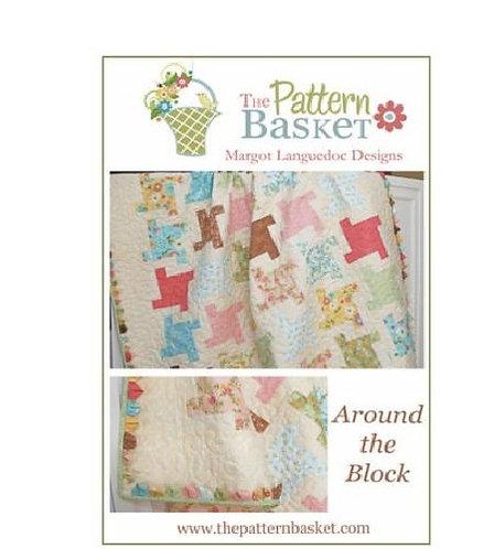 Pattern Basket AROUND THE BLOCK Fat Quarter  Pattern