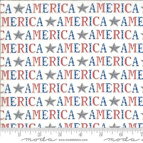 American the Beautiful 19983 12 White Moda Deb Strain