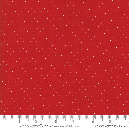 Play All Day 21098 135 Red Pindots Moda American Jane