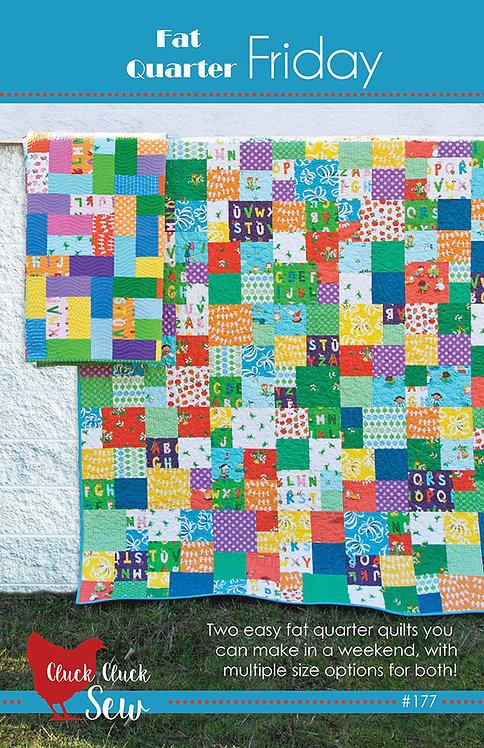 Cluck Cluck Sew FRIDAY Fat Quarter Pattern