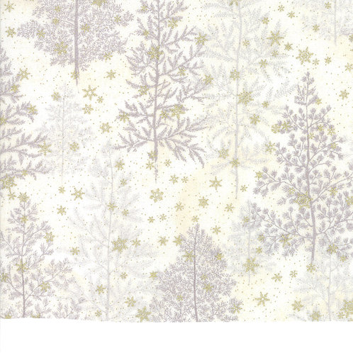 Forest Frost Glitter 33520 12MG  Silver Gold Snowflakes