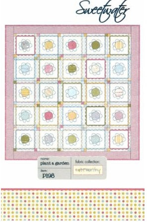 Sweetwater PLANT A GARDEN Layer Cake Pattern