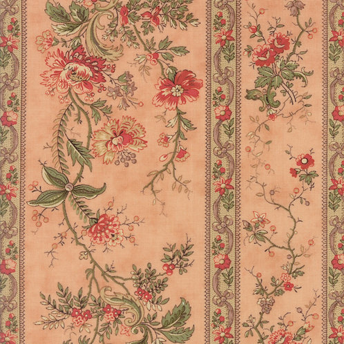 Courtyard 44121 16 Rose Floral Moda 3 Sisters