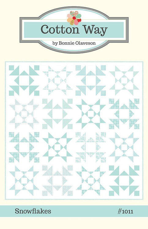 Cotton Way SNOWFLAKES Pattern