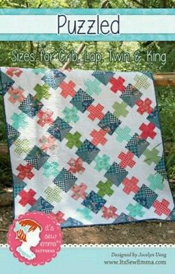 It's Sew Emma PUZZLED Quilt Pattern