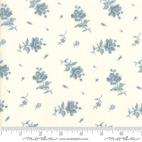 Northport 14883 11 Beige Blue Floral