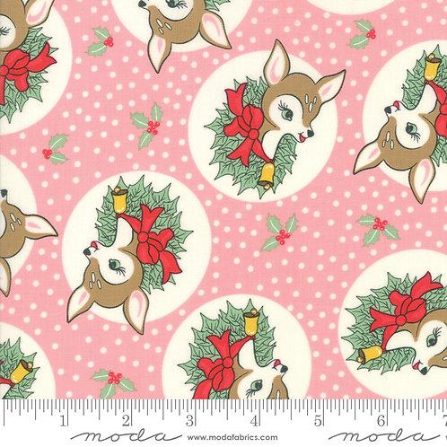 Deer Christmas 31161 15 Pink Moda Urban Chicks