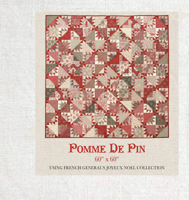 French General POMME DE PIN Pattern