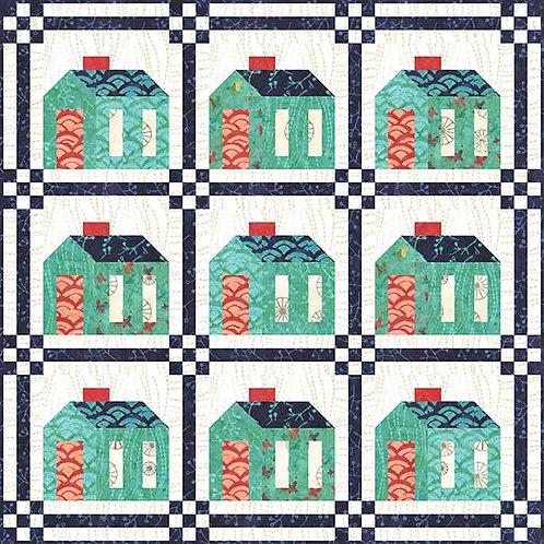 Pat Sloan 916 RED DOOR LANE Quilt Pattern