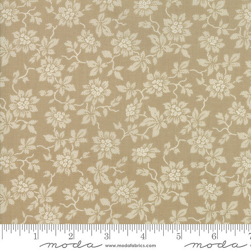 La Vie en Rouge 13826 19 Brown Tonal Floral Moda French General