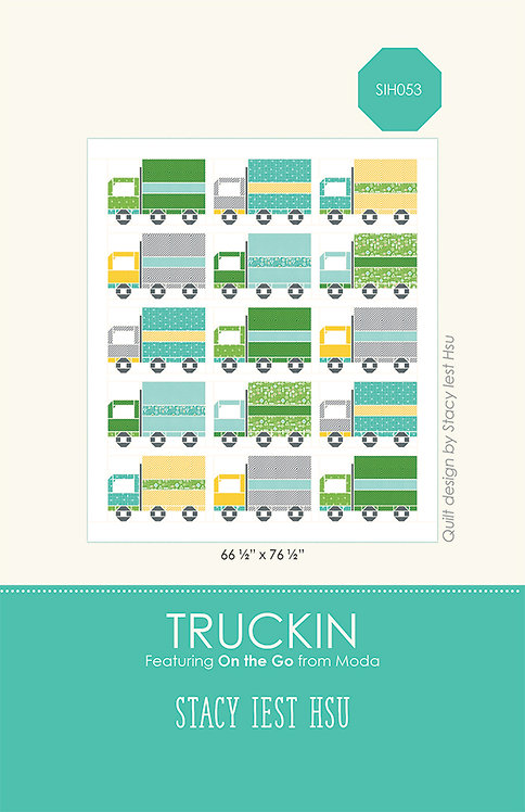 On the Go TRUCKIN Children's Quilt Pattern