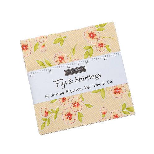 FIGS & SHRITINGS Moda Fig Tree Charm Pack