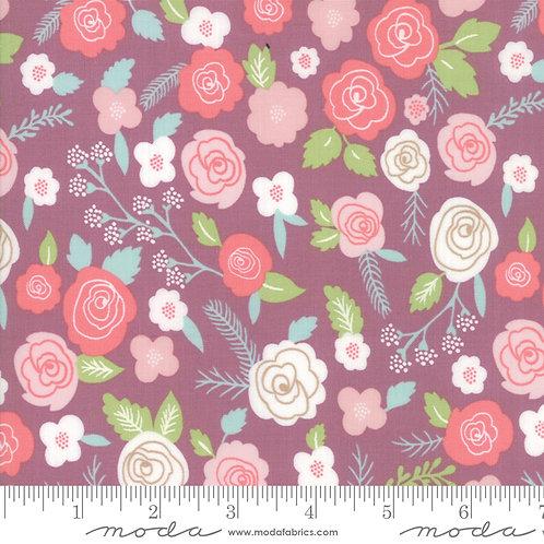 Lollipop Garden 5080 14 Purple Floral Moda Lella Boutique