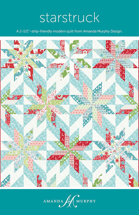 Amanda Murphy STARSTRUCK Jelly Roll Quilt Pattern